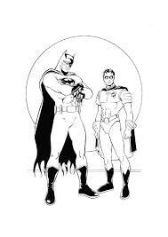 Pictures Batman And Robin Coloring Pages 18 In Coloring Print With