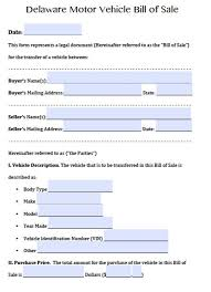 Free Motor Vehicle Bill Of Sale Vehicle Bill Of Sale Form Free Nc Washington State Texas Inherwake