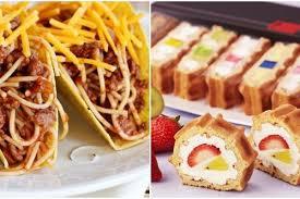 Cake is a form of food, typically a sweet, baked dessert. Selain Donat Indomie 10 Kombinasi Fusion Makanan Ini Gak Kalah Unik