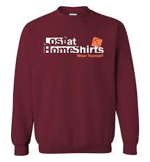 Sweater Logo Design Brand Logo Sweatshirt Lost At Home Shirts Lost At Home Shirts