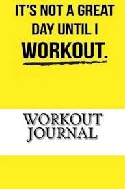 Workout Journal Workout Log Diary With Food Exercise Journal