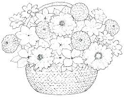 Simple Flower Coloring Pages Kids Coloring Pages Flowers Simple