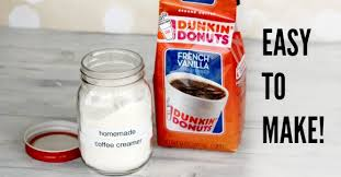 homemade powdered coffee creamer is easy to make