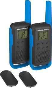 <b>Рация Motorola Talkabout</b> T62 Blue/Black - купить радиостанцию ...