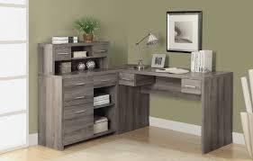 home office desk corner. Pleasant Modern Corner Desk Interesting Decoration Cool With Hutch Home Office 4