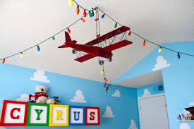 ... Inspiring Airplane Boy Bedroom Design And Decoration Ideas : Lovely  Image Of Airplane Boy Bedroom Decoration ...