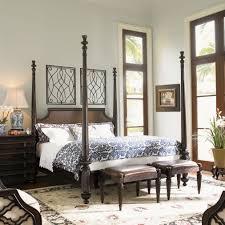 Tommy Bahama Living Room Furniture Tommy Bahama Home Royal Kahala Four Poster Bed Reviews Wayfair