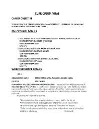 nursing supervisor resumes sample resume nurses for staff nurse nursing supervisor mmventures co