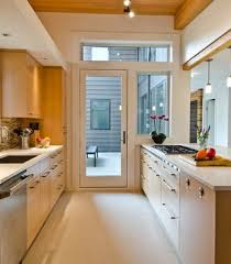 Kitchen Design For Long Narrow Room Homes Abc