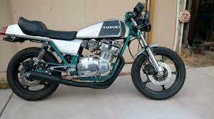 1982 suzuki gs 750 custom cafe racer