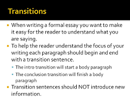 objective students will learn the formal essay writing format when writing a formal essay you want to make it easy for the reader to