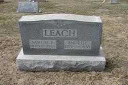 "Angelica ""Angie"" Carpenter Leach (1871-1935) - Find A Grave Memorial"
