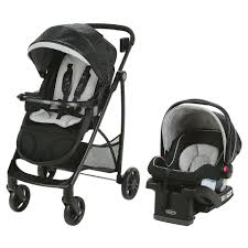 graco views stroller travel system with snugride  lx infant car