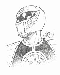 Mighty Morphin Power Rangers Coloring Pages Green Power Ranger