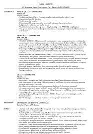 Quality Inspector Resume Quality Inspector Resume Samples Velvet Jobs 1