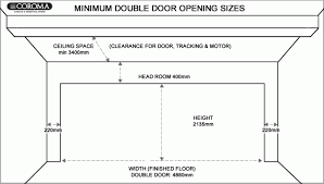 double garage door conversiondouble width australia spring for garage door widths double