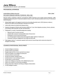 Intelligence Analyst Resume Examples Examples Of Resumes