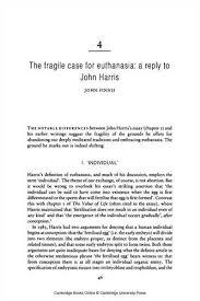 euthanasia thesis hoga hojder euthanasia thesis