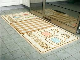 kitchen throw rugs washable letter print cute washable kitchen rugs