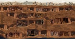 Image result for nevşehir kalesi yeraltı şehri