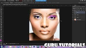 how to makeup in adobe photo cs6 very easy guru sharma
