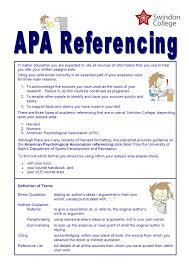 04academic Referencing Apa By Emma Bushell Issuu