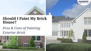 should i paint my brick house pros