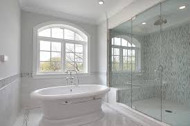 image of sliding glass tub and shower doors and sliding glass shower door pers