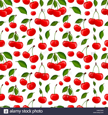 Cherry Pattern Custom Decorating Ideas