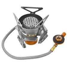 halin hk359 1 outdoor camping picnic cooking gas stove silver