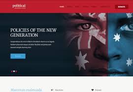Political Website Templates Psd Website Templates Premium Psd Website Templates Buy