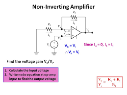 non inverting amplifier equation derivation jennarocca