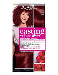 Loreal Red Hair Colour Chart Black Cherry Red Hair Dye Colour 460 Cherry Red
