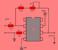 ic 741 op amp basics and circuit working characteristics ic 741 op amp circuit diagram