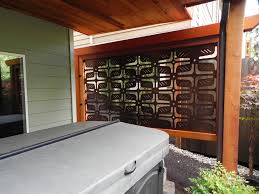 attractive privacy screen for patio diy outdoor privacy screen patio designs yard imanada exterior decorating inspiration