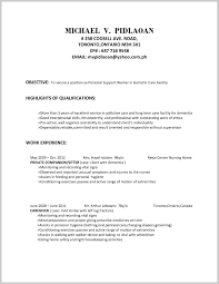 Psw Sample Resume Top Resume Objectives For Psw 24 Resume Ideas 3