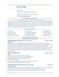 Best Solutions Of Free Resume Templates Good Objective Great