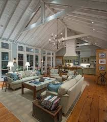open floor plan country homes modern farmhouse images my on loft plans small