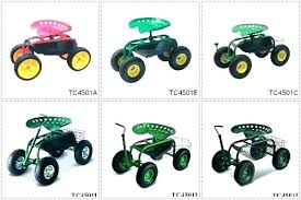 gardening seat for elderly astounding seats tractor style garden cart on wheels rolling stool
