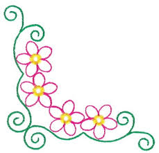 Small Picture SimpleCornerBordersClipArt outlined floral borders