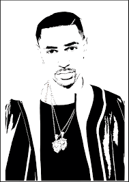 Big Sean Vector Portrait On Behance
