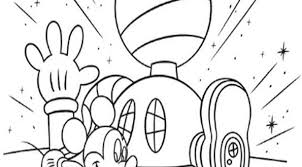 Small Picture Printable Mickey Mouse Clubhouse Coloring Pages Bebo Pandco