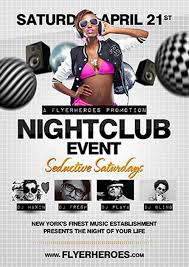 Club Flyer Templates Free Nightclub Event Free Psd Flyer Template Free Psd Flyer