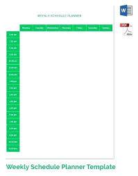 Printable Weekly Schedule Maker Weekly Staff Schedule Template Free Printable Weekly Work