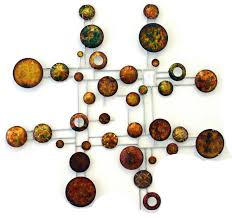 abstract metal wall art uk
