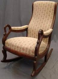 My mom has the same handles on her rocking chair.