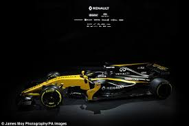 f1 new car releaseRenault unveil new RS17 F1 car for 2017 season  Daily Mail Online