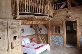 Mezzanine Bedroom La Scie Location De Chalet En Haute Savoie A Samoens Master
