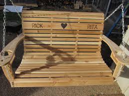 How To Build A Porch Swing Diy Cedar Porch Swing Wilker Dos