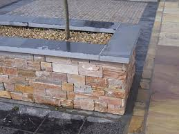 slate coping stones for use as wall